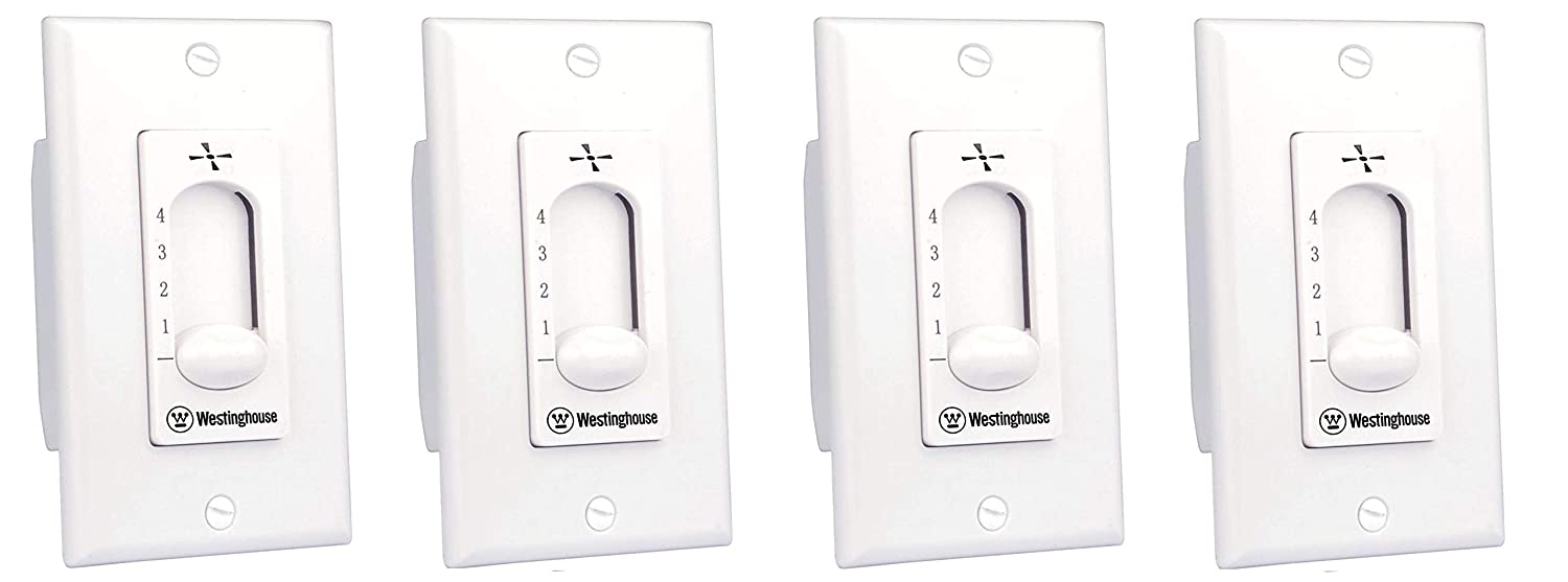 Westinghouse 7787200 Ceiling Fan Wall Control 2 Pack