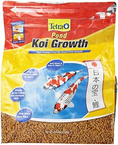 Tetra Pond Koj Growth alimento para rapid fish growth 2