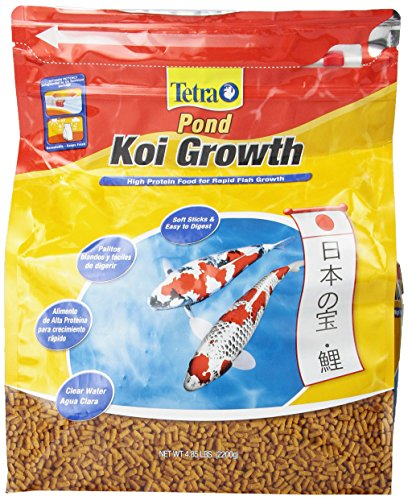 TetraPond Koi Growth Food, 4.85 lb. (Fish Food Koi compare prices)