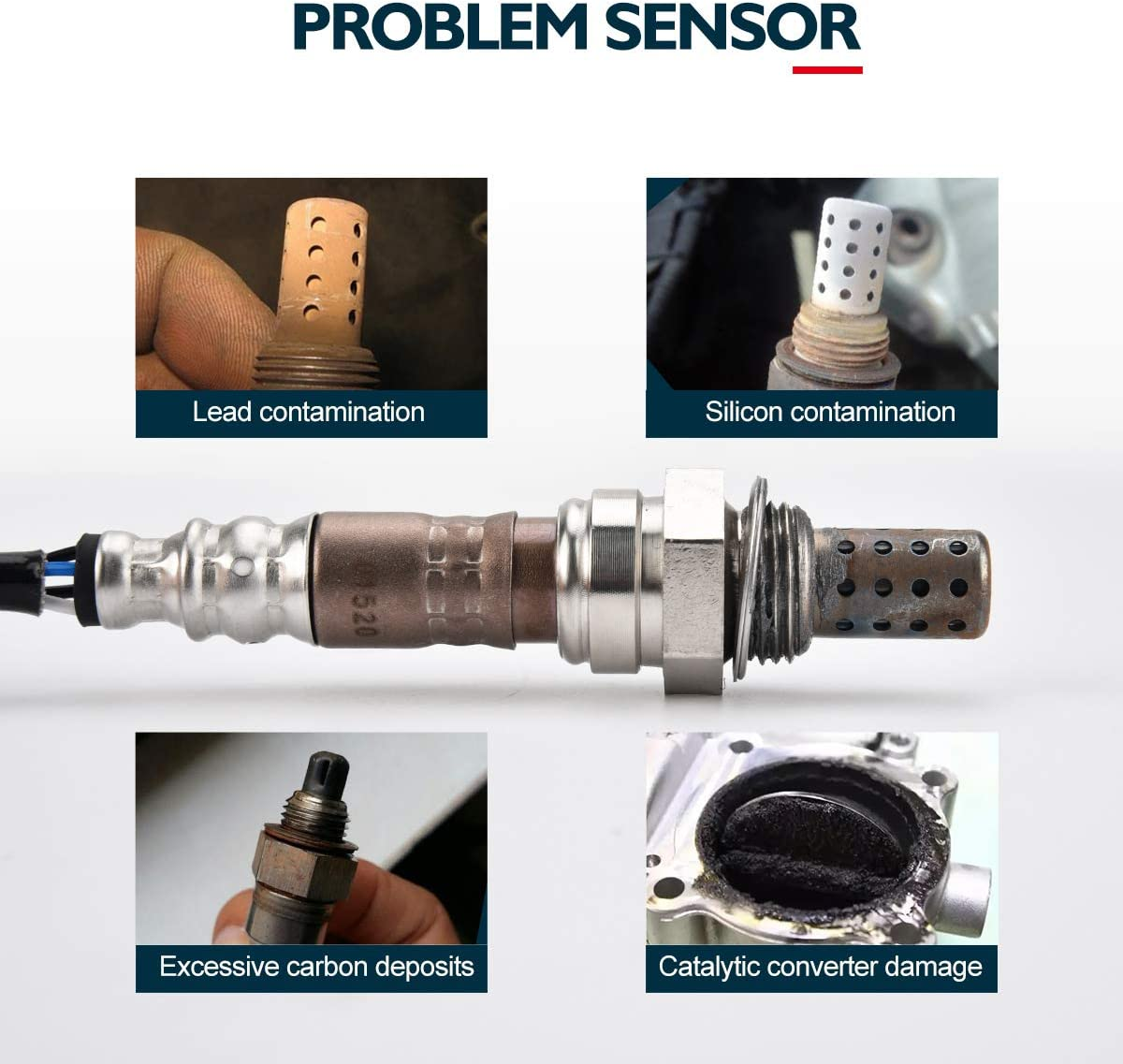 Lexus LX470 KAX 234-4162 Oxygen Sensor Original Equipment Replacement 250-24154 O2 Sensor Up//Downstream Compatible for Toyota 4Runner//Corolla//Tacoma//Chevrolet Prizm