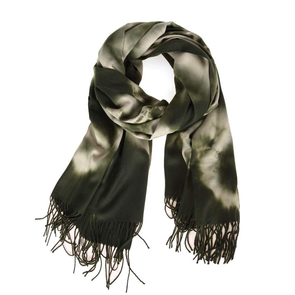 2ccab6b163678 Fashion Womens Chiffon Bridal Evening Soft Wrap Scarf Shawl(Dark Green)