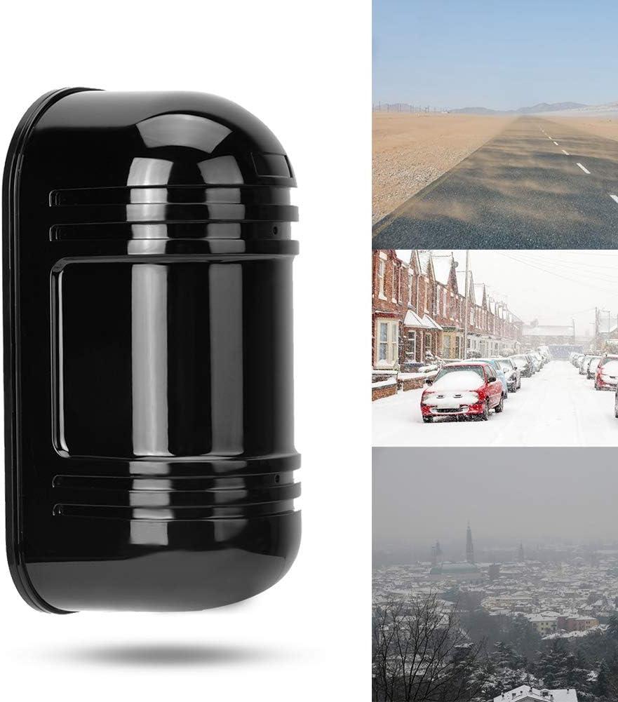 Sensor de infrarrojos Alarma de sensor de infrarrojos Uso dom/éstico para uso en entornos hostiles Barrera de haz invisible Alarma de sensor de movimiento IR