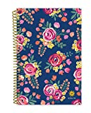 """bloom daily planners 2018-2019 Academic Year Day Planner - Monthly and Weekly Calendar Book - Inspirational Dated Agenda Organizer - (August 2018 - July 2019) - 6"""" x 8.25"""" - Vintage Floral"""