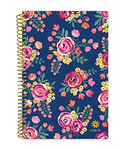 ear Day Planner Bloom Daily Planners - Monthly and Weekly Calendar Book - Inspirational Dated Agenda Organizer - (August 2018 - July 2019) - 6