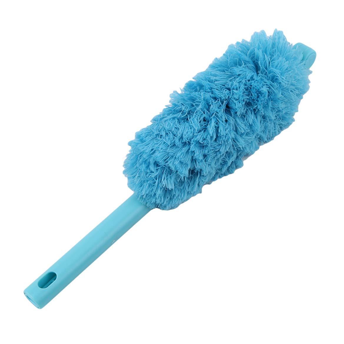 Blanc Beafavor Microfibre Duster avec rallonge pour outils de nettoyage /électrostatiques domestiques