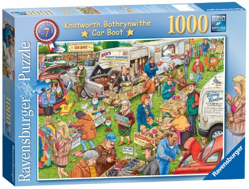 Ravensburger Best Of British Car Boot Sale 1000 Piece Puzzle