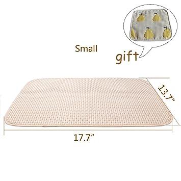 Amazon.: Baby Waterproof Mattress Crib/Bed Pads Organic Cotton