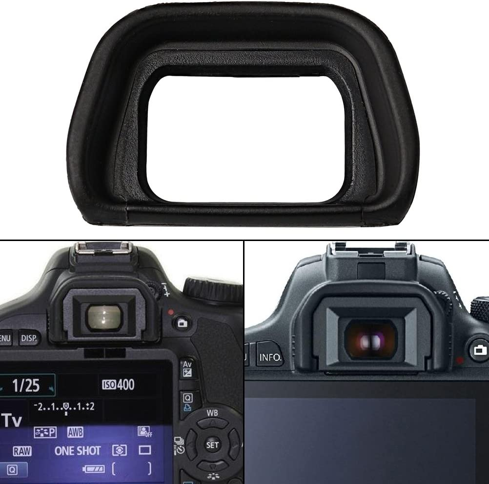 Wode Shop 2 Pack Eyepiece//Eyecup//Eye Cup Viewfinder for Sony FDA-EP10 A6300//A6000//NEX-6//NEX-7 Cameras and FDA-EV1S Electronic Viewfinder