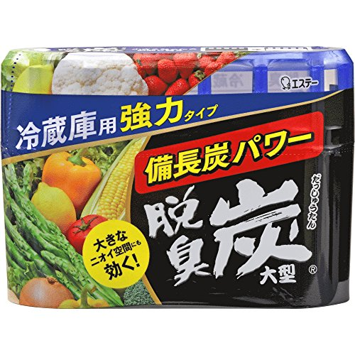 [Dasshutan] Refrigerator deodorizers With Charcoal (Large) 8.47 oz