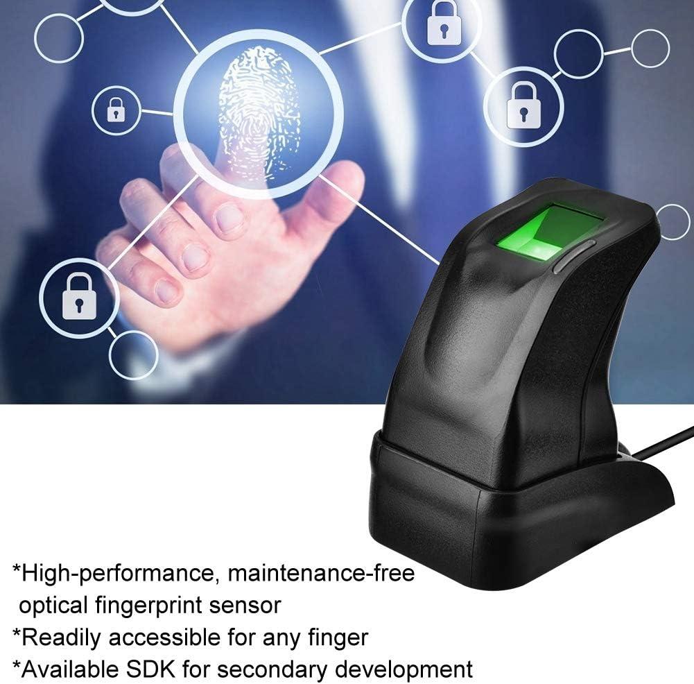 USB-Fingerabdruckleser Fingerabdruck-Authentifizierung Fingerabdruckleser Sensor Fingerprint Collection f/ür Computer PC Home Office gr/ünes Licht