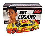 2X AUTOGRAPHED 2017 Joey Logano & Roger Penske #22 Pennzoil Racing (Team Penske) Monster Energy Cup Series Signed Lionel 1/24 NASCAR Diecast Car with Sticker & COA (#0314 of only 1,168 produced!)