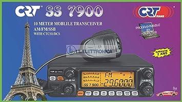 CRT SS 7900 CB Ham Radio 10m 11m: Amazon co uk: TV