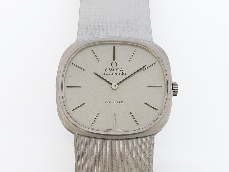 オメガ OMEGA デヴィル シルバー文字盤 メンズ 腕時計 【中古】 B0784MJQXL