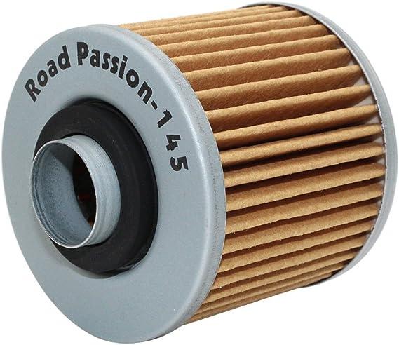 Road Passion Filtre /à lhuile pour YAMAHA XVS125 DRAGSTAR 00-04 XV125S VIRAGO 97-01 XV250 ROUTE 66 88-90 95-97 XV250 88-95 XV250S VIRAGO 95-06