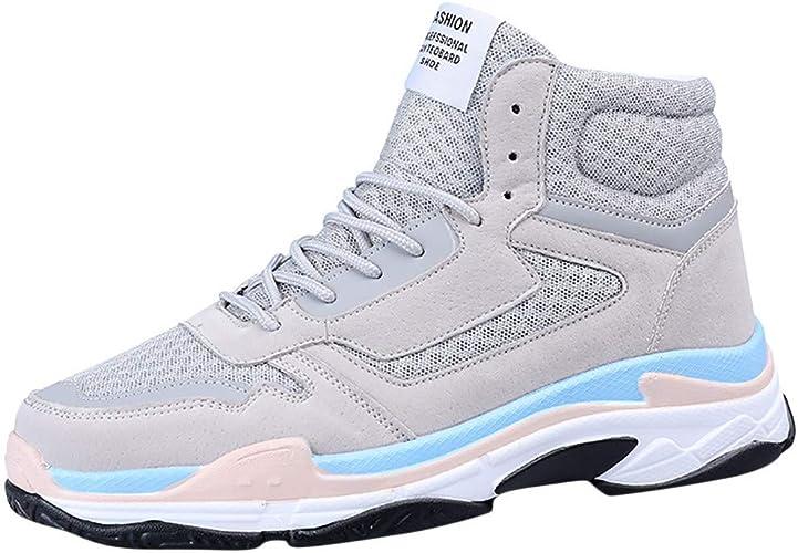 TTMall Men's High Neck Basketball Shoes
