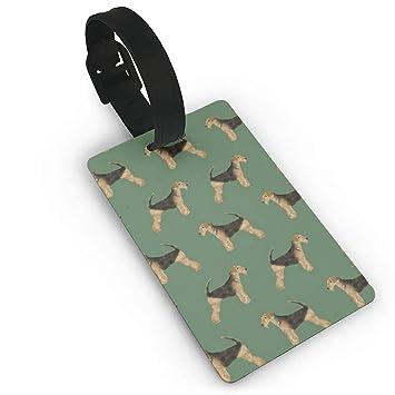 Amazon.com: Airedale Terrier - Bolsas de identificación para ...