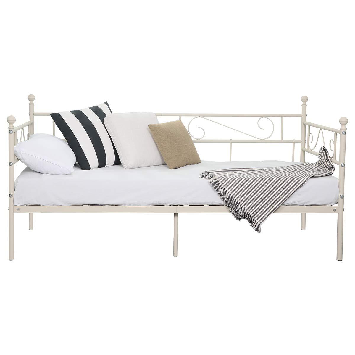 Tagesbett Schwarz Inkl Lattenrost Bett Einzelbett Day Bed