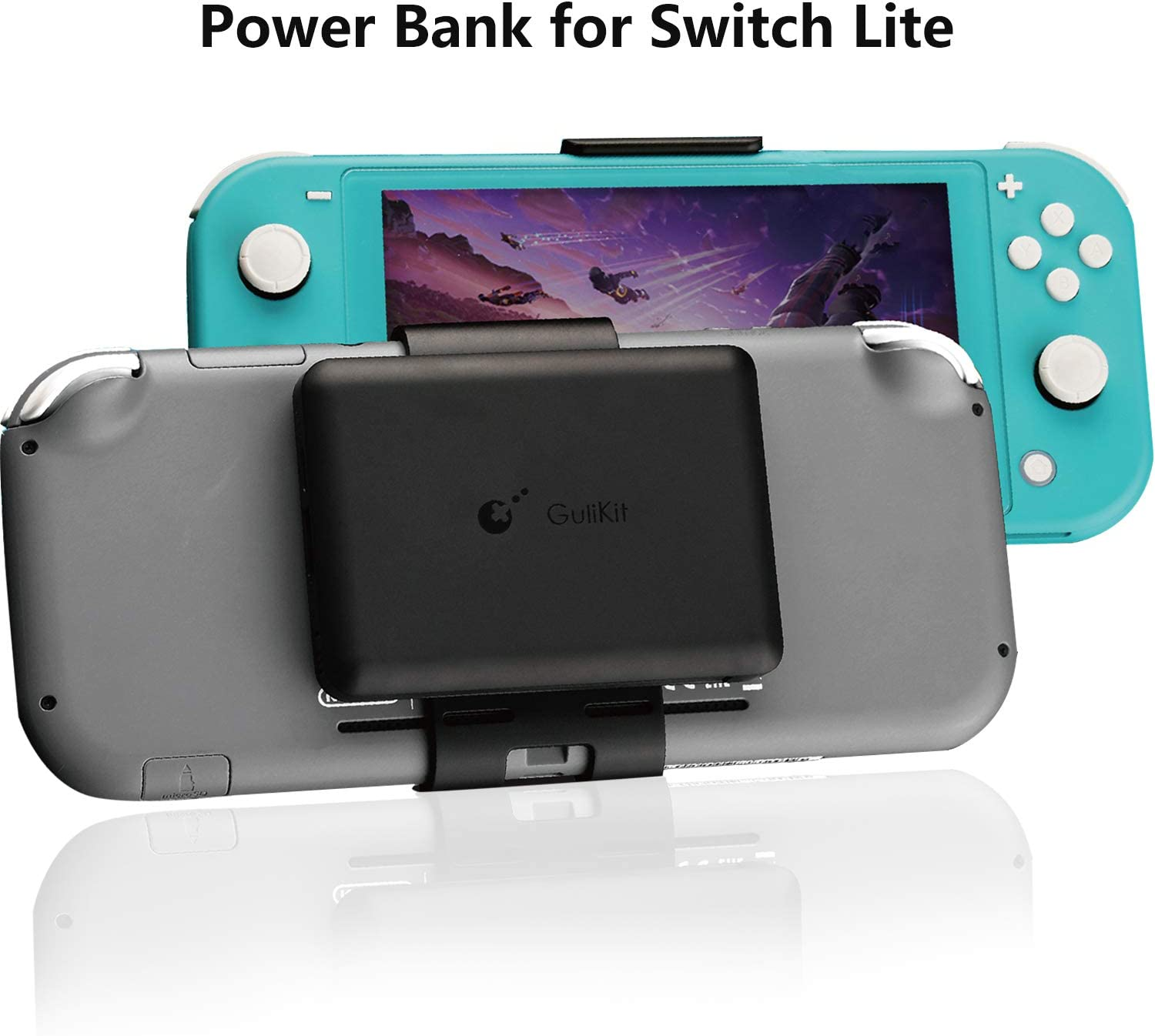 Power Bank for Nintendo Switch Lite,5000mAh Rechargeable Extended Portable Battery Charger, Compact Travel Backup Power Pack for Nintendo Switch Lite by Emperor of Gadgets