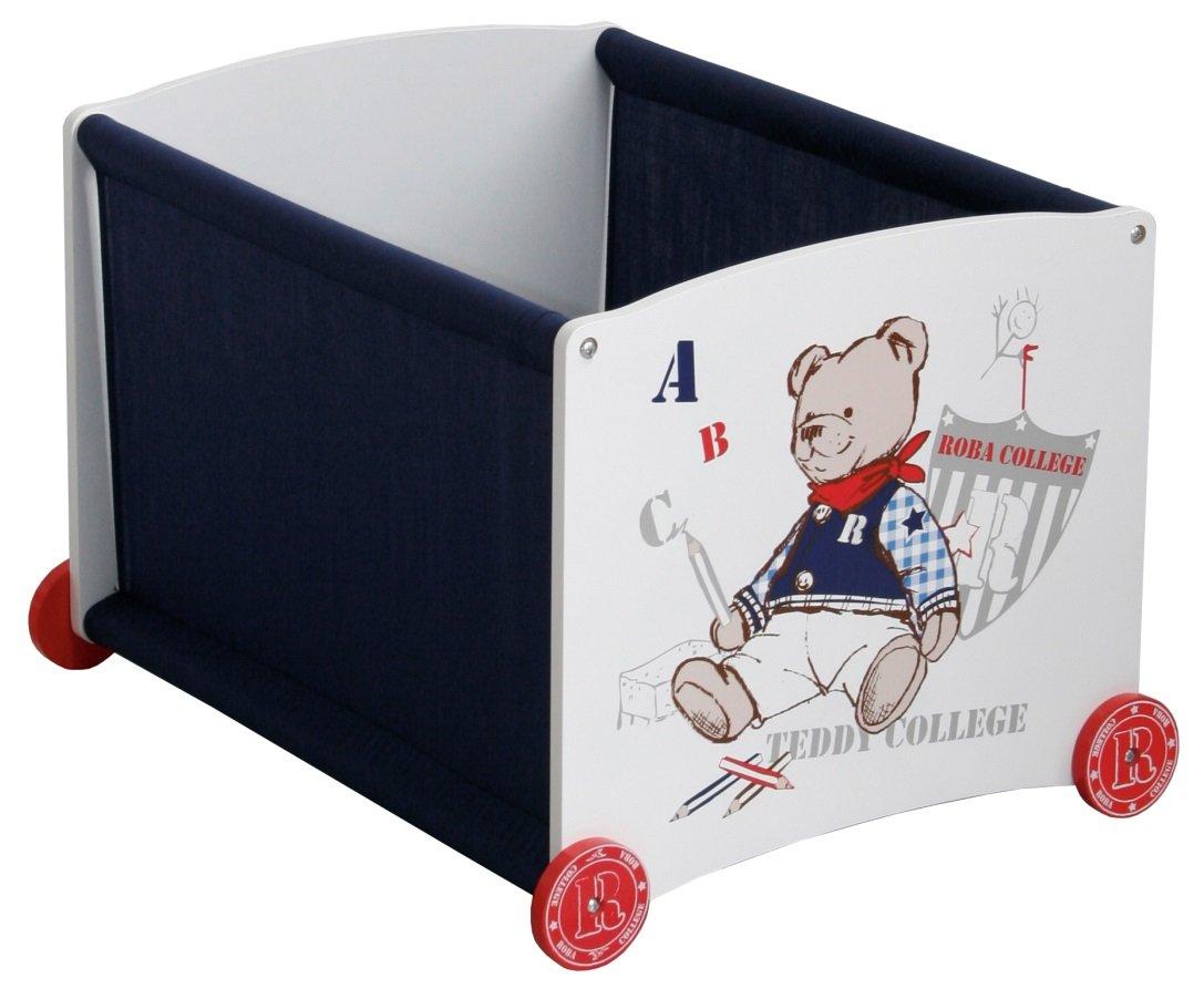 Babypuppen & Zubehör Roba Kids Puppenbank bis 5kg Teddy College  TOP Möbel