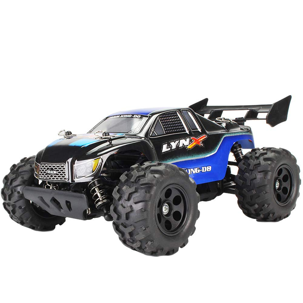 Choosebuy❤️ Radio Off-Road RC Car Racing, 1:22 Scale 2.4GHz High Speed Climbing Remote Control Vehicle Toys Kids Gift (Blue)