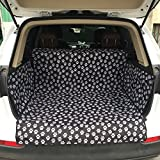 Tmsmall Waterproof Dog Seat Covers Noslip Pet Seat Cover Side Walls Protectors Secure Fit Universal Design All Cars SUVs