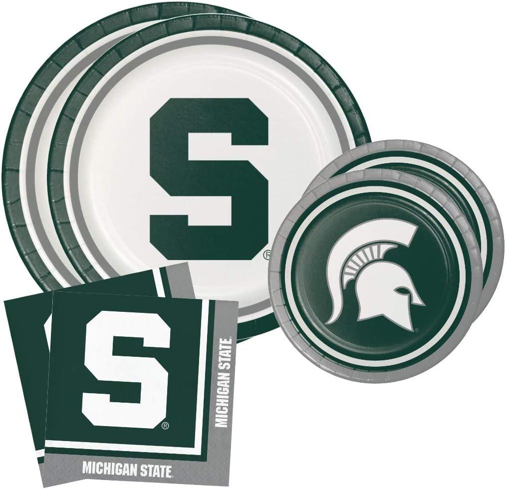 Michigan State University Spartans Party Bundle 9