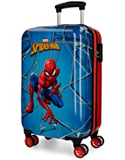 Marvel Spiderman Black Valigia per bambini 55 centimeters 37.4 Multicolore (Multicolor)