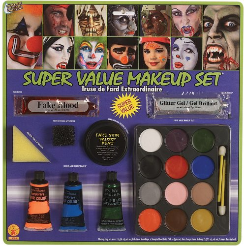 [Super Value Clown Make-Up Kit] (Clown Around Makeup Kit)