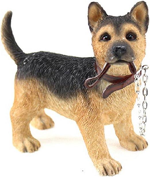 GERMAN SHEPHERD Leonardo Resin Dogs Figures
