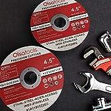 "Olsa Tools Cut Off Wheels, 4.5"" x 0.04"" x"