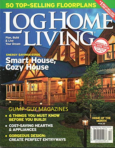 Traditional Entryway (Log Home Living Magazine GORGEOUS DESIGN: CREATE PERFECT ENTRYWAYS Plan, Build & Live Your Dream ENERGY SAVINGS GUIDE: SMART & COZY HOUSE WARM FIREPLACES 50 TOP-SELLING FLOORPLANS)