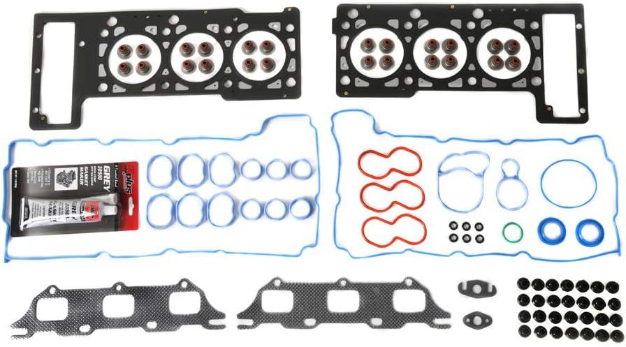 MOCA Timing Chain Kit /& Head Gasket Set /& Oil Pump /& Water Pump Kit for 02-04 Chrysler Concorde//Intrepid /& Dodge Intrepid /& 05-06 Chrysler 300 /& Dodge Magnum//Stratus 2.7L V6