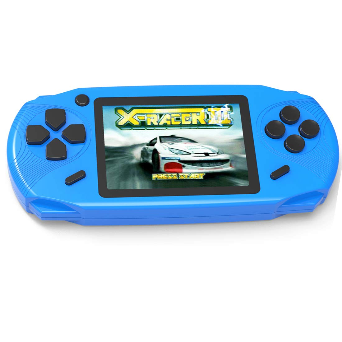 Beijue 16 Bit Handheld Games for Kids Adults 3.0'' Large Screen Preloaded 100 HD Modern Video Games Seniors Electronic Game Player for Boys Girls Birthday Xmas Present (Blue) by Beijue