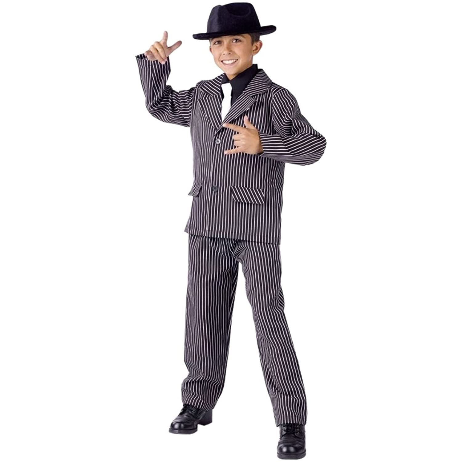 Amazon.com: Boy\'s Gangster Costume by Fun World Costumes - Size 8 ...