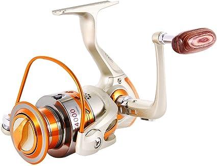 7+1 Bearings 4.9 1 Metal Spinning Fishing Reels Light Weight Ultra Smooth