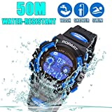 Kid Watch For Child Boy Girl LED Multi Function Sport Outdoor Digital Dress Waterproof Alarm
