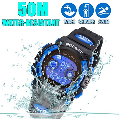 Kid-Watch-For-Child-Boy-Girl-LED-Multi-Function-Sport-Outdoor-Digital-Dress-Waterproof-Alarm