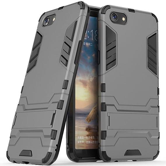 pretty nice 82d2b 78513 Amazon.com: OPPO A83 Case, OPPO A83 Hybrid Case, OPPO A83 Stand Case ...