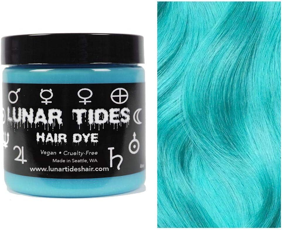 Sea Witch, colorante para el cabello semi permanente azul - 118 ml - Lunar Tides