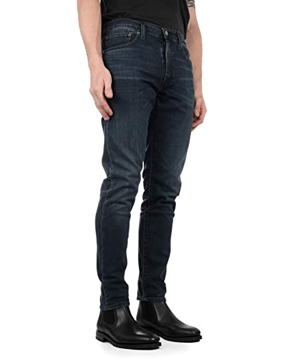 8552d1a4d90 Levi's Men's 512 Tapered Slim Denim Jeans Headed South Stretch:  Amazon.co.uk: Clothing