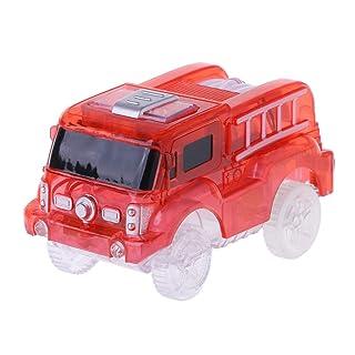 LyGuy Elettronica Car Track Toys 5 LED Lampeggiante Kids Boys Educational Traccia Il Giocattolo