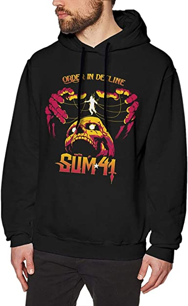Zxcvbnm Obituary Slowly We Rot Mens Hoodie Sweatshirt Black