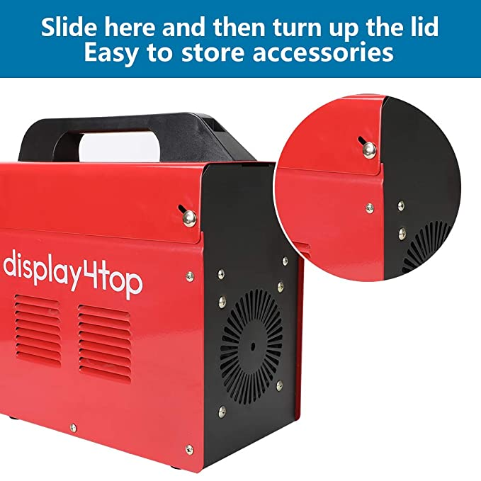 Display4top Soldador hilo continuo sin gas MIG 100 230V Máquina de Soldadora Aparato Eléctrico de Soldadura Máquina de Soldar Portátil para Casa Color Rojo: ...