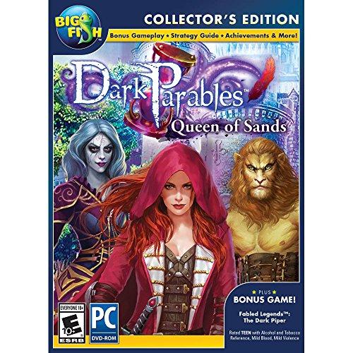 Encore Software Big Fish Games Dark Parables 9: Queen of Sands Collectors Edition (Big Fish Best Games)