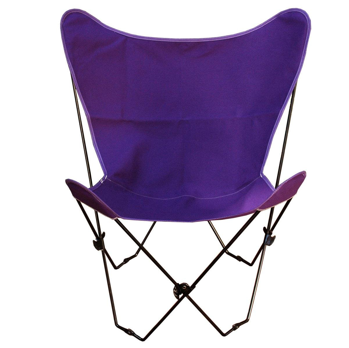 Algoma Net Butterfly Chair and Cover Combination w/Black Frame