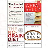 img - for End of alzheimer's, wheat belly, no-grain diet, grain brain 4 books collection set book / textbook / text book