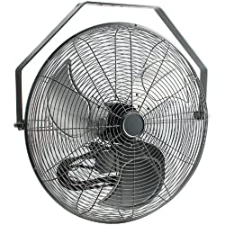 ValueTek 3-Speed Wall Mount Fan - 20""
