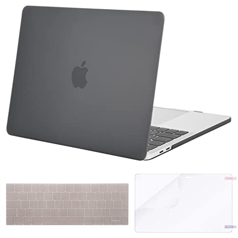 MOSISO Funda Dura Compatible 2018 2017 2016 MacBook Pro 13 con/sin Touch Bar A1989