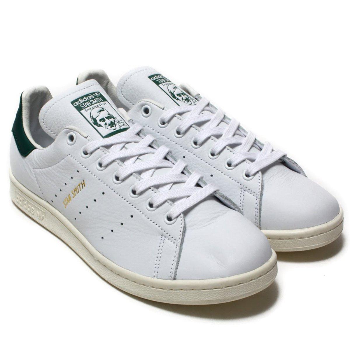 日本国内正規品 アディダス adidas オリジナルス スタンスミス 〔STAN SMITH〕 ランニングホワイト/ランニングホワイト/カレッジエイトグリーン CQ2871 B079JR8Y4Q
