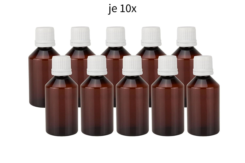 10x Diy Leer : Rr handel braune pet leerflasche für e liquid shisha liquids base